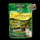 Earthborn Holistic 3oz fin and fowl cat food