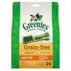 Greenies Grain Free 12oz Petite Dental Treats