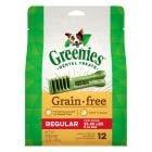 Greenies Grain Free 12oz Regular Dental Treats