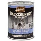 Merrick backcountry 12.7oz grain free chicken