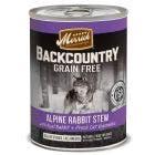 Merrick backcountry 12.7oz chunks rabbit salmon stew