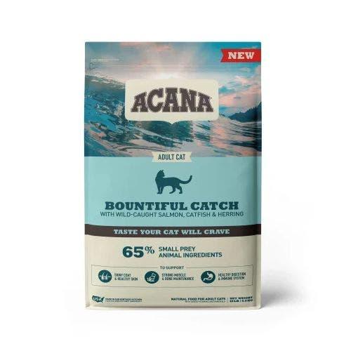 Acana bountifull catch 10lb cat food