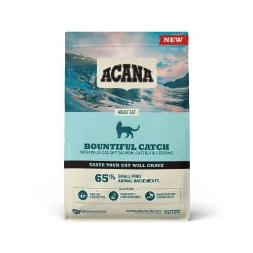 Acana bountifull catch 4lb cat food