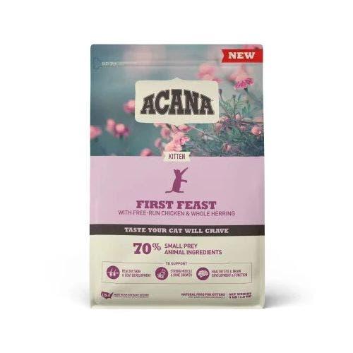 Acana first feast 4lb cat food