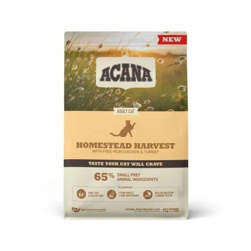 Acana homestead harvest 4lb cat food