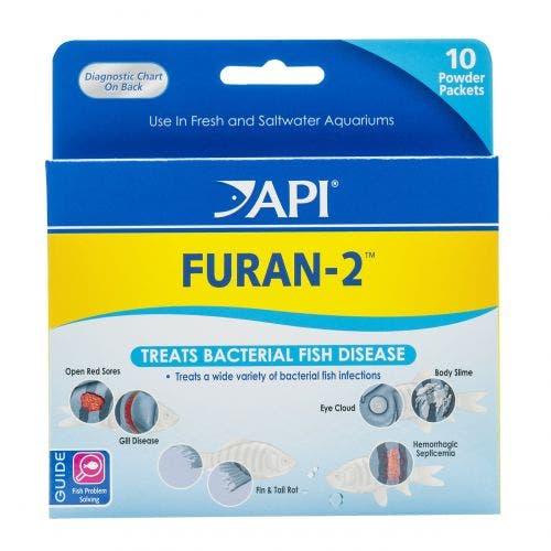 API Furan 2-Powder Packets - 10 Pack