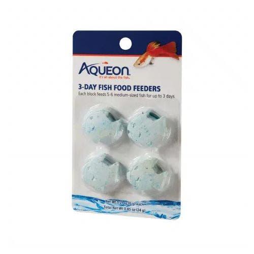 Aqueon 3 day fish food feeder fish