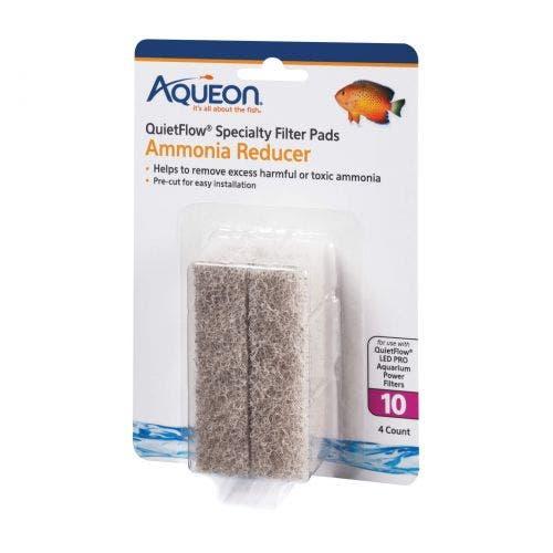 Aqueon ammonia mini pad quiet flow 10 fish