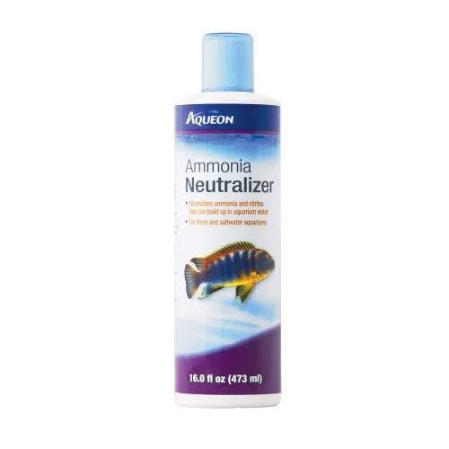 Aqueon ammonia neutralizer 16oz fish