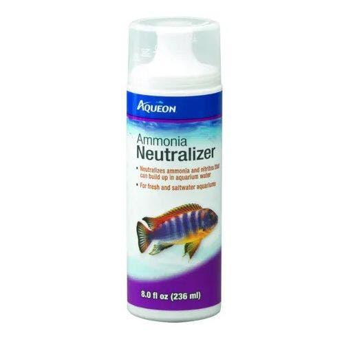 Aqueon ammonia neutralizer 8oz fish
