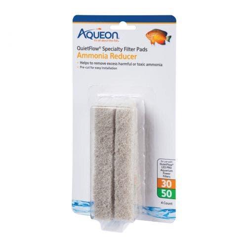 Aqueon phosphate mini pad quiet flow 30/50 fish