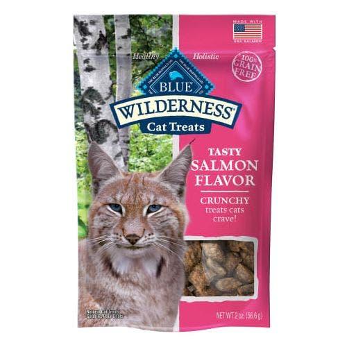 Blue Buffalo Cat 2oz Crunchy Salmon Cat Treats
