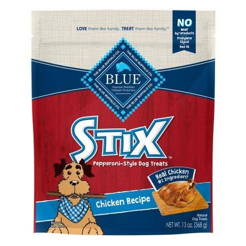 Blue Buffalo 6oz Chicken Stix Dog Treat