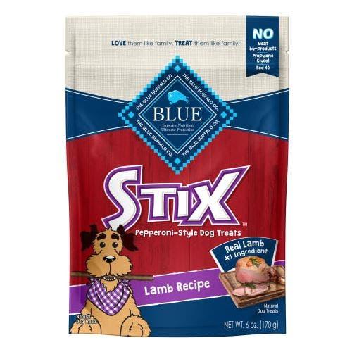 Blue Buffalo 6oz Lamb Stix Dog Treat
