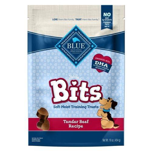 Blue Buffalo Blu 4oz Beef Bits Dog Treat
