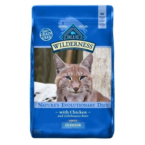 Blue Buffalo Blu Cat 11lb Wilderness Indoor Cat Food