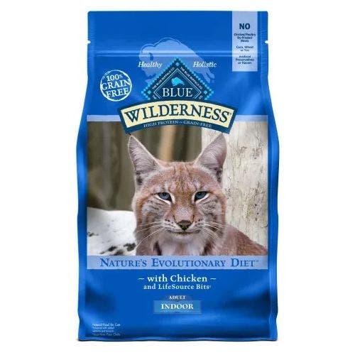 Blue Buffalo Blu Cat 5lb Wilderness Indoor Cat Food