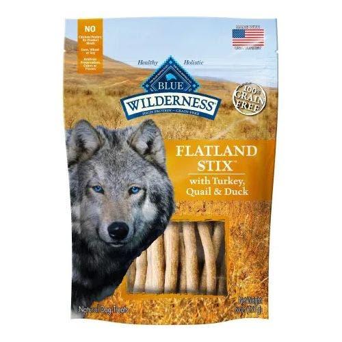 Blue Buffalo Blu Wilderness 6oz Flatland Stix Dog Treats