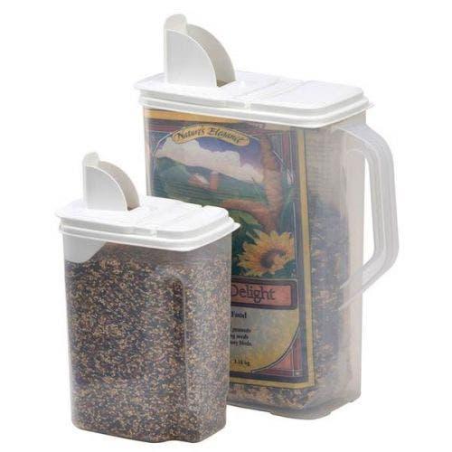 Buddeez 2 pack bird seed dispensers bird