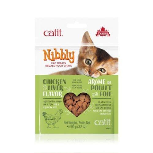 Catit Nibbly 3.2oz Chicken Liver Treats