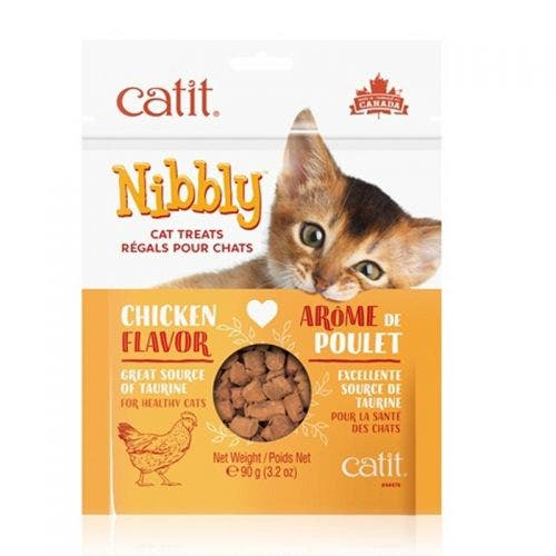 Catit Nibbly 3.2oz Chicken Treats