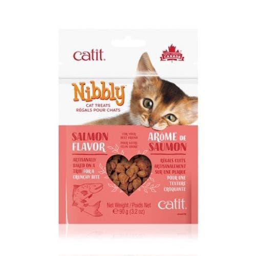 Catit Nibbly 3.2oz Salmon Treats