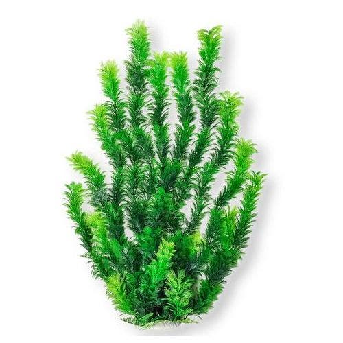 Aquatop Bushy Plant 24in Weighted Base - Green