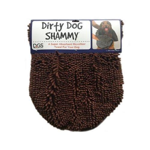 Dirty Dog brown shammy dog