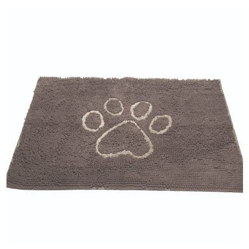 Dirty Dog doormat large mist grey dog