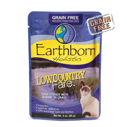 Earthborn Holistic 3oz low country fare cat food