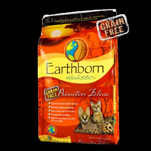 Earthborn Holistic 2.2lb primitive cat food