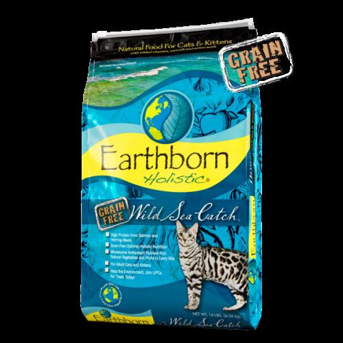 Earthborn Holistic 2.2lb seacatch cat food
