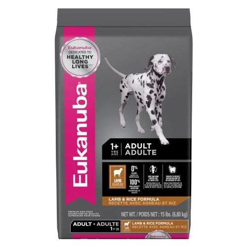 Eukanuba 15lb Medium Breed Lamb Dog Food