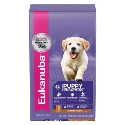 Eukanuba 30lb Puppy Medium Breed Lamb Dog Food