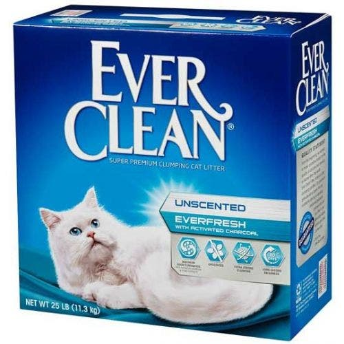 Ever Clean 25lb activated charcoal cat litter