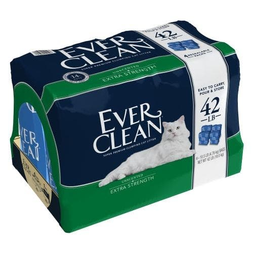 Ever Clean 42lb unscented litter