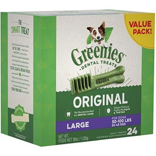 Greenies Large Dental Chews 36oz Tub