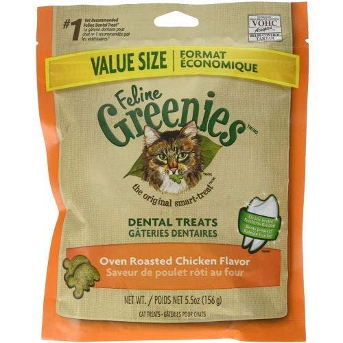 Greenies Feline 5.5oz Dental Chicken