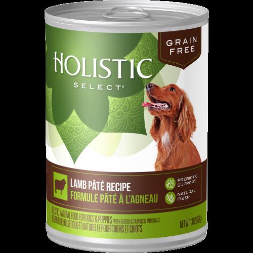 Holistic Select 13oz Grain Free Lamb Pate Dog Food