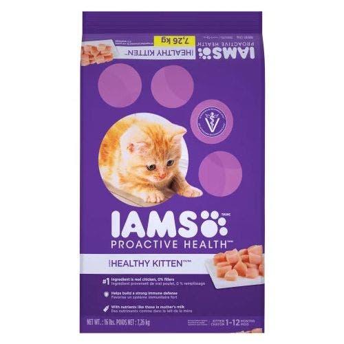 Iams Cat 16lb Kitten Cat Food