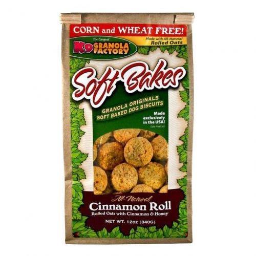 K9 Granola 12oz cinnamon roll softbakes