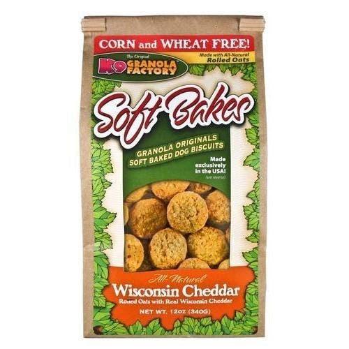 K9 Granola 12oz Wisconsin cheddar softbakes