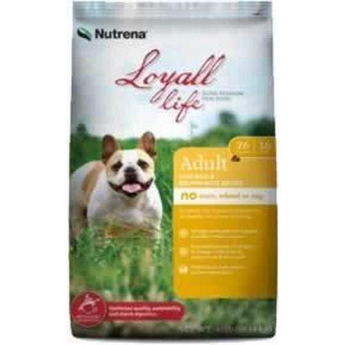Loyall Life 40lb grain free chicken and brown rice dog food