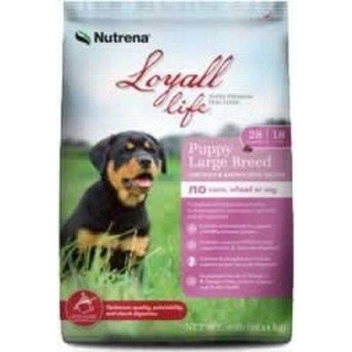 Loyall Life 40lb grain free large breed chicken and brown rice dog food
