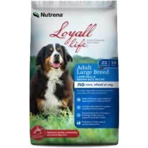 Loyall Life 40lb grain free large breed lamb and brown rice dog food