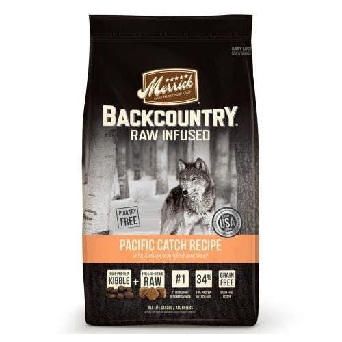 Merrick backcountry grain free pacific catch