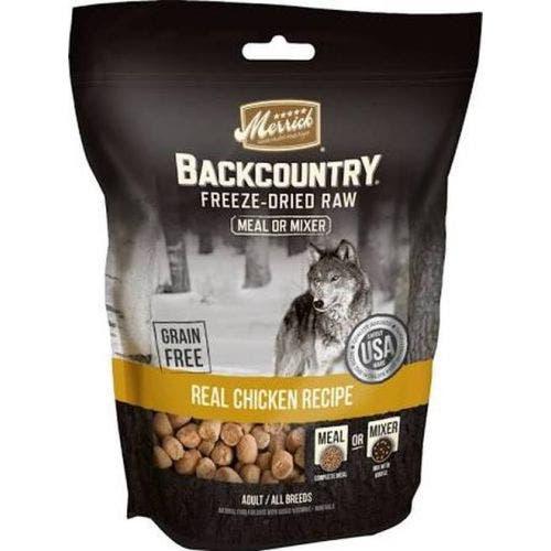Merrick backcountry cat 10oz chicken treats