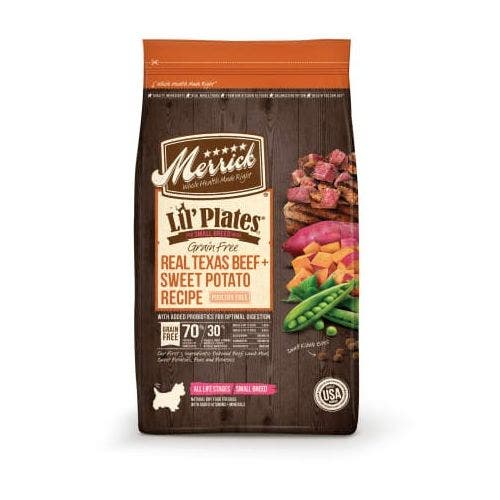 Merrick lil plates grain free beef