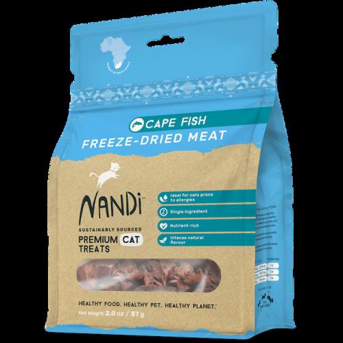 Nandi cape fish 2oz freeze dried cat