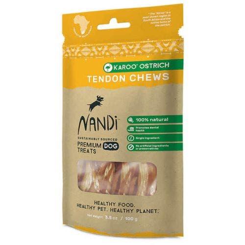 Nandi kangaroo ostrich 3.5oz tendon chews